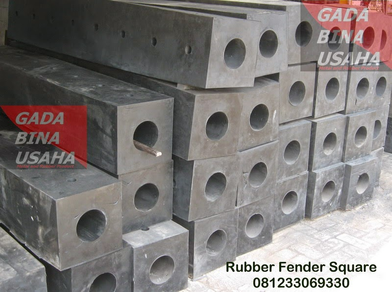 Rubber Fender Square