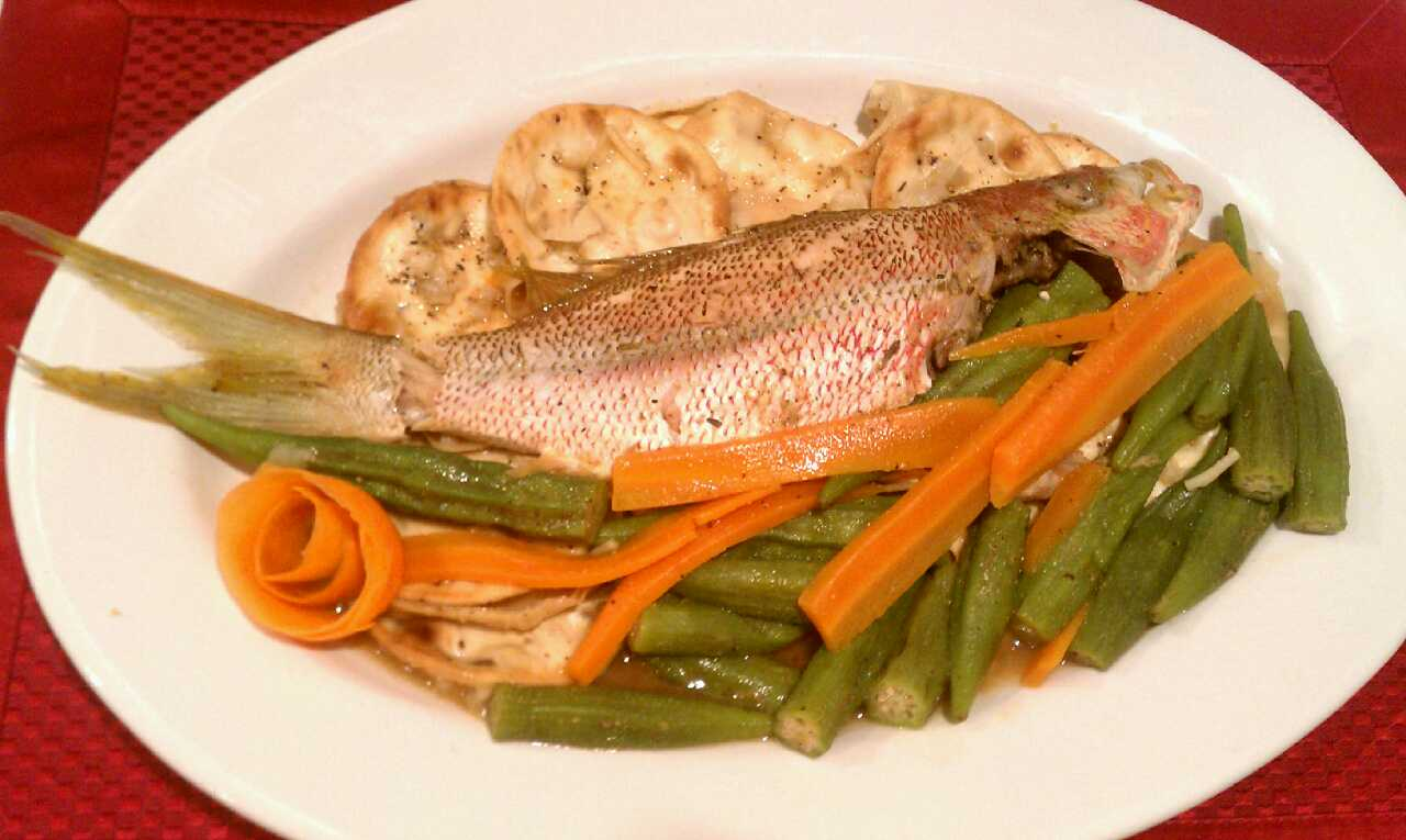 eat fit live well jamaica steamed fish okra