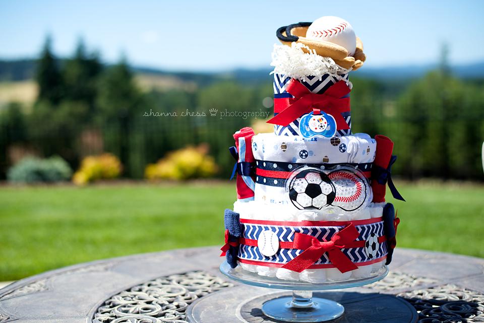 Eugene Springfield Event Photography diaper cake
