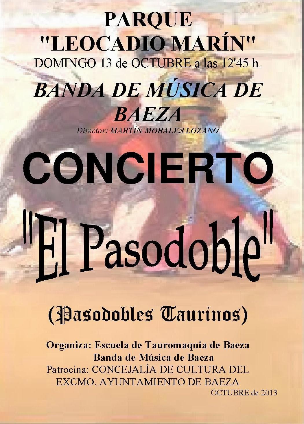 BANDA DE MÚSICA DE BAEZA - CONCIERTO DE PASODOBLES TAURINOS
