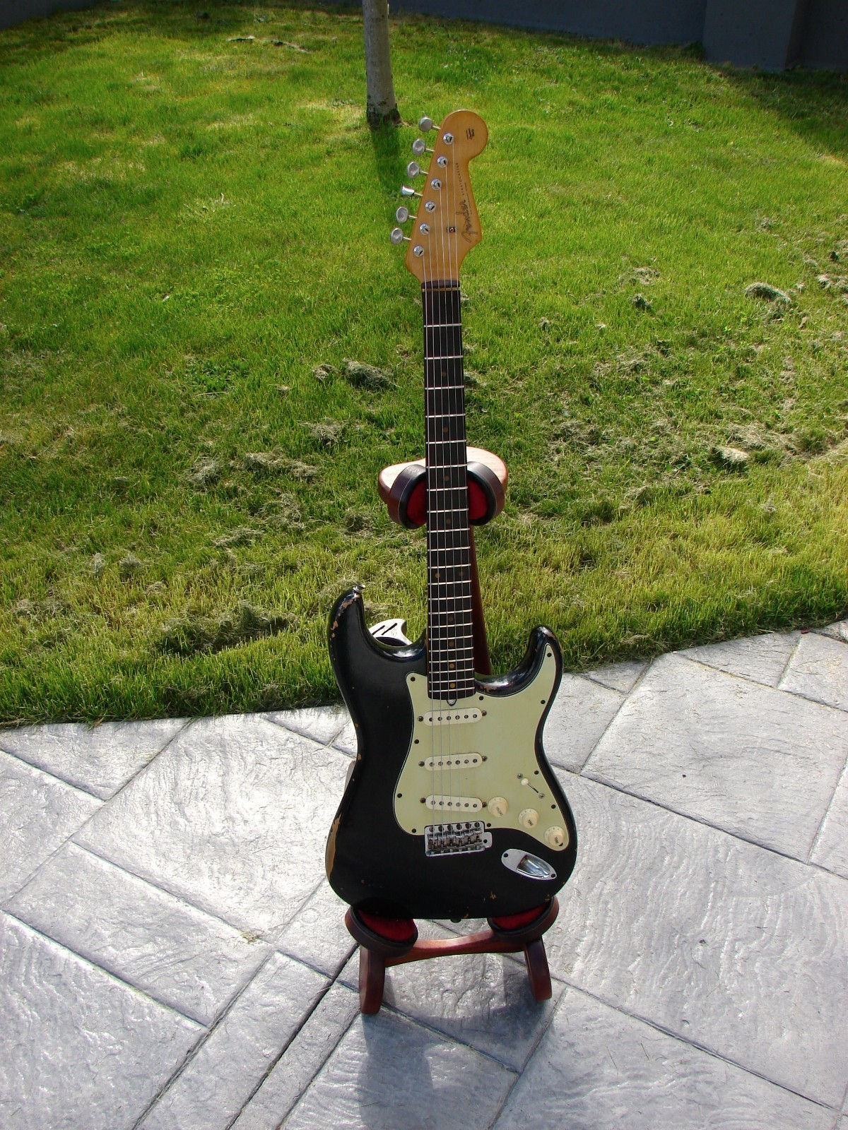 Vintage Guitarz May 2013 1965 Gibson Es345 Wiring Repair Chicago Fret Works Guitar Canada Fender Stratocaster 1960