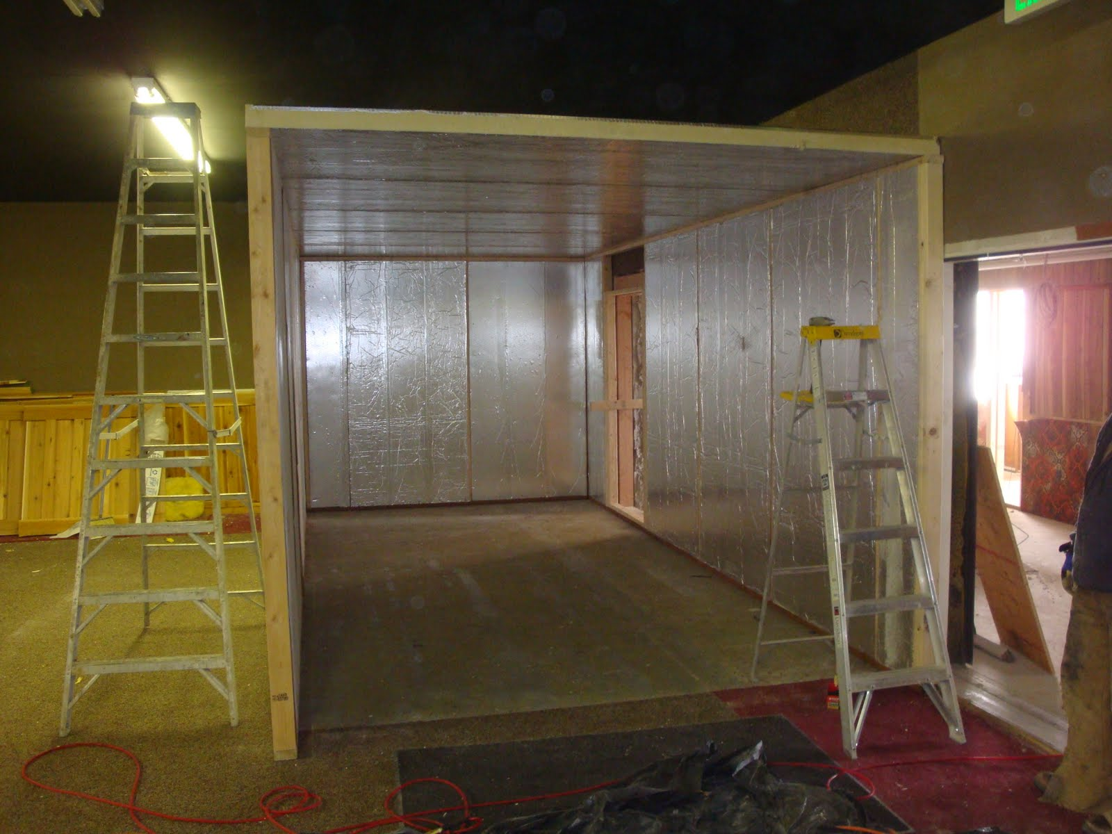 insulated wall panels by raycore what a great cooler panel space