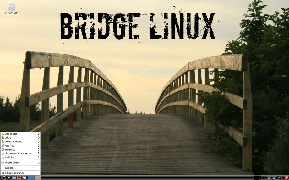 Bridge Linux LXDE