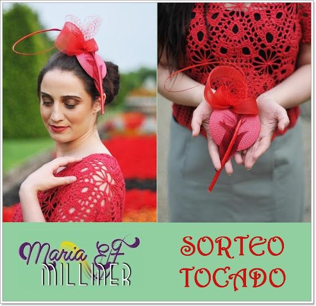 sorteo Maria EF Milliner tocados blog Mi Boda Gratis