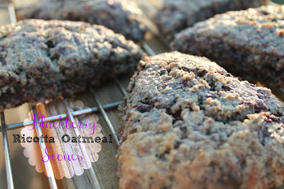 blackberry ricotta oatmeal scones (sweetandsavoryfood.com)