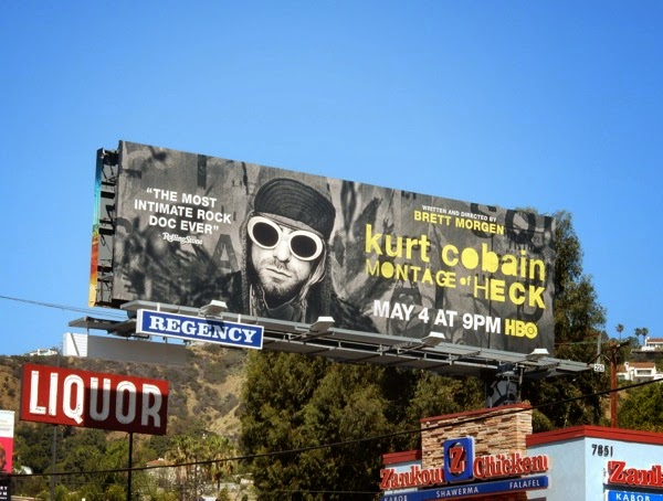 Kurt Cobain Montage of Heck billboard