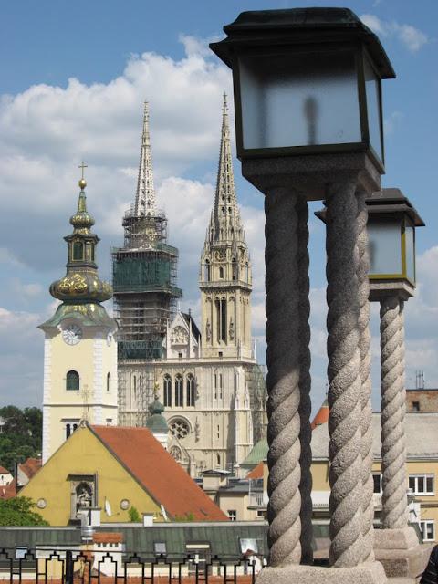 Old Town Zagreb in Zagreb - Croatia