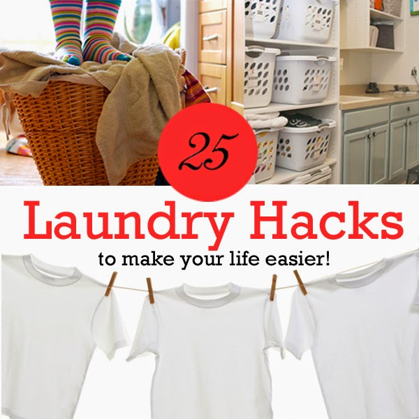 25 Laundry Hacks to make your life easier!