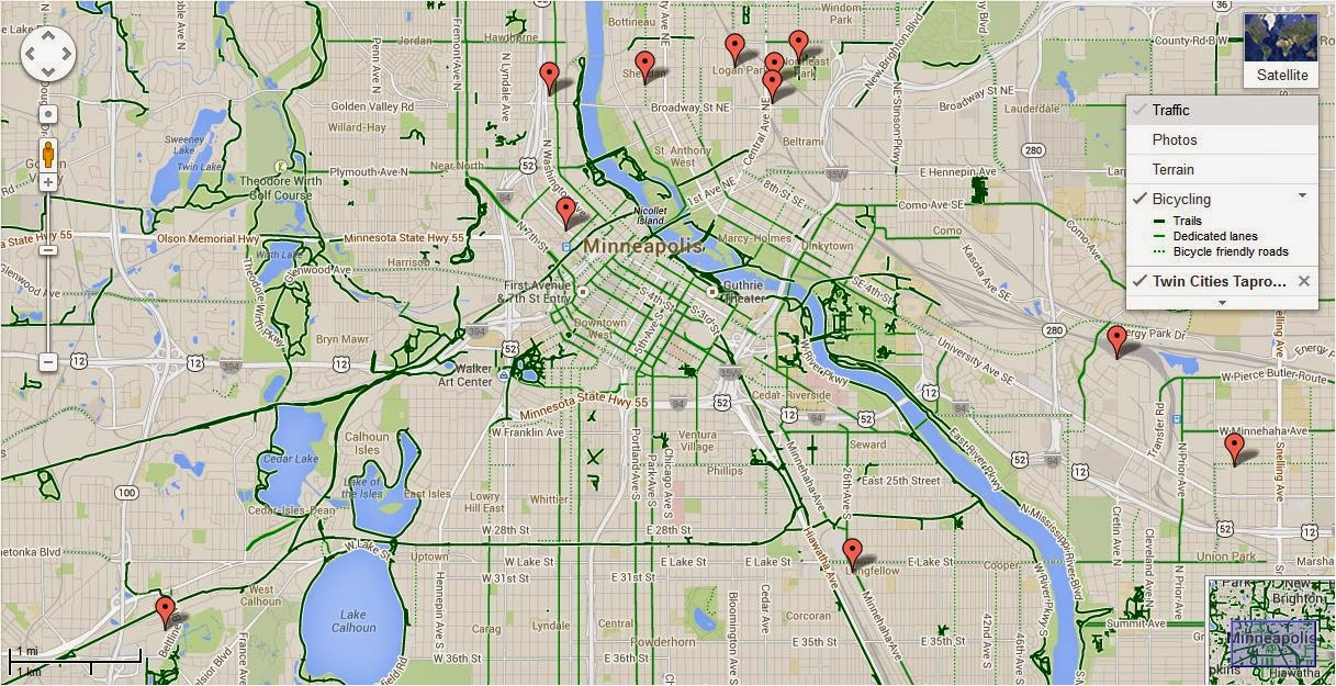 MN Bike Trail Navigator Plan Your Own Twin Cities Brewery