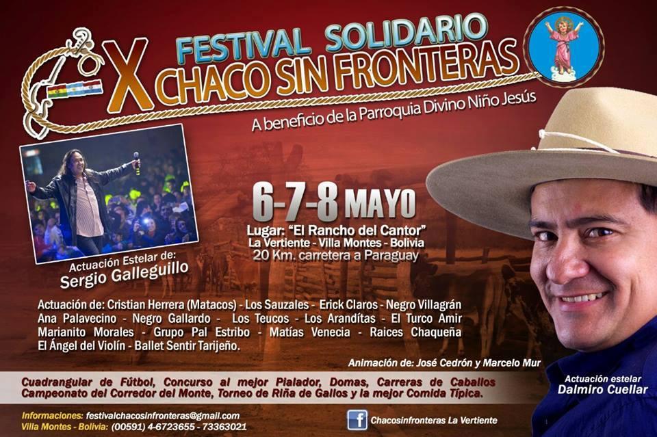 FESTIVAL SOLIDARIO CHACO SIN FRONTERAS