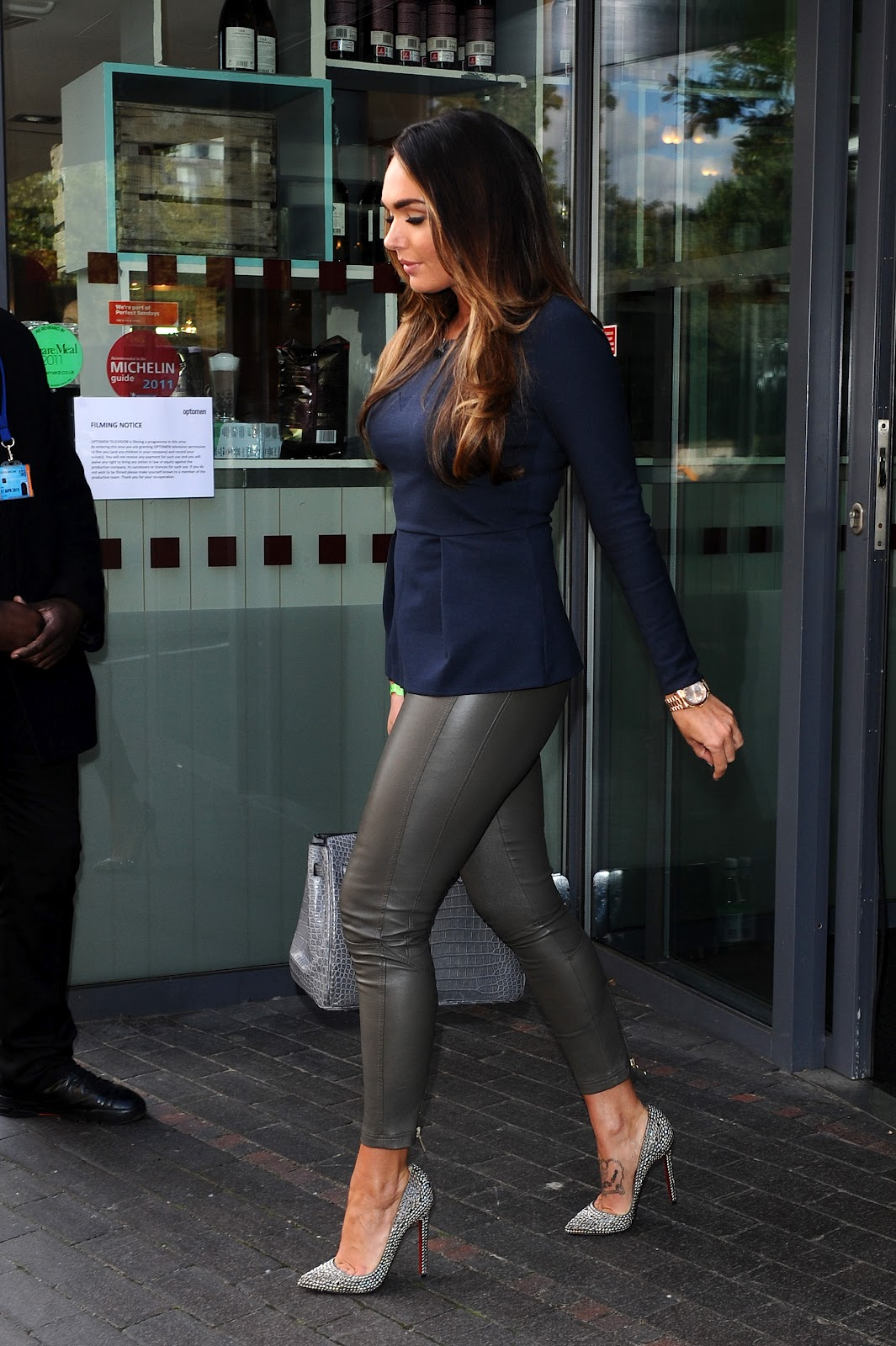 Tamara ecclestone leather pants tamara ecclestone leather dress tamara - Tamara Ecclestone Spotted Leaving Hotel Gb In London