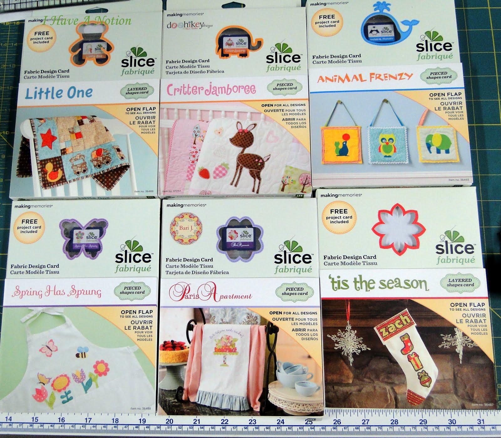 Slice Fabrique Design Cards