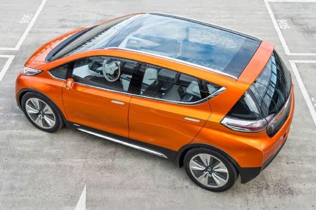 Chevrolet Bolt Concept Debuts at Detroit Auto Show