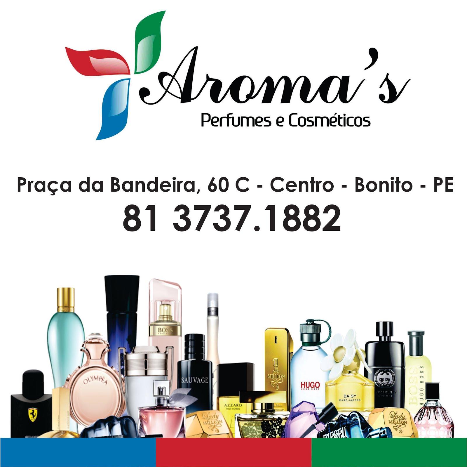 Aroma's - Perfumes e Cosméticos
