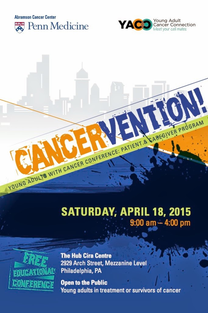 Young Adult Cancer Connection Cancervention event April 18, 2015