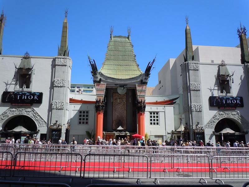 Grauman's Chinese Theatre Thor premiere
