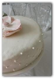 Min kusin Maria gör fina tårtor på beställning