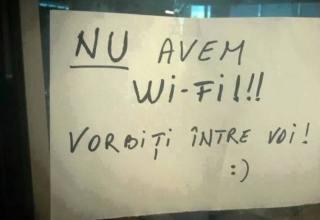 nu avem wi-fi