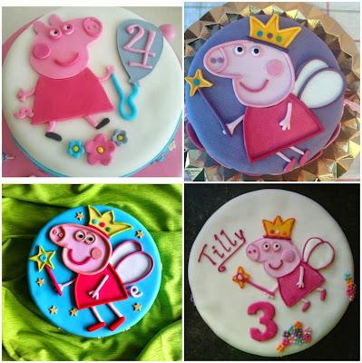 1peppa pig bolos