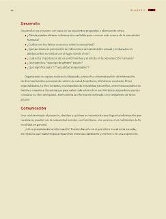 Apoyo Primaria Ciencias Naturales 6to Grado Bloque I Proyecto Nuestra sexualidad