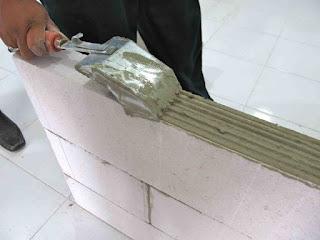 Tips Hemat Menggunakan Semen instan / Mortar