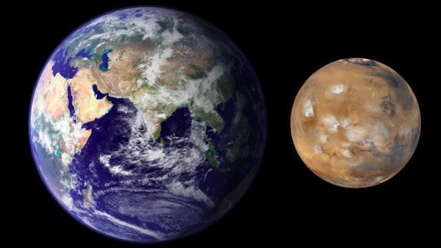Bumi Lebih Besar Daripada Mars
