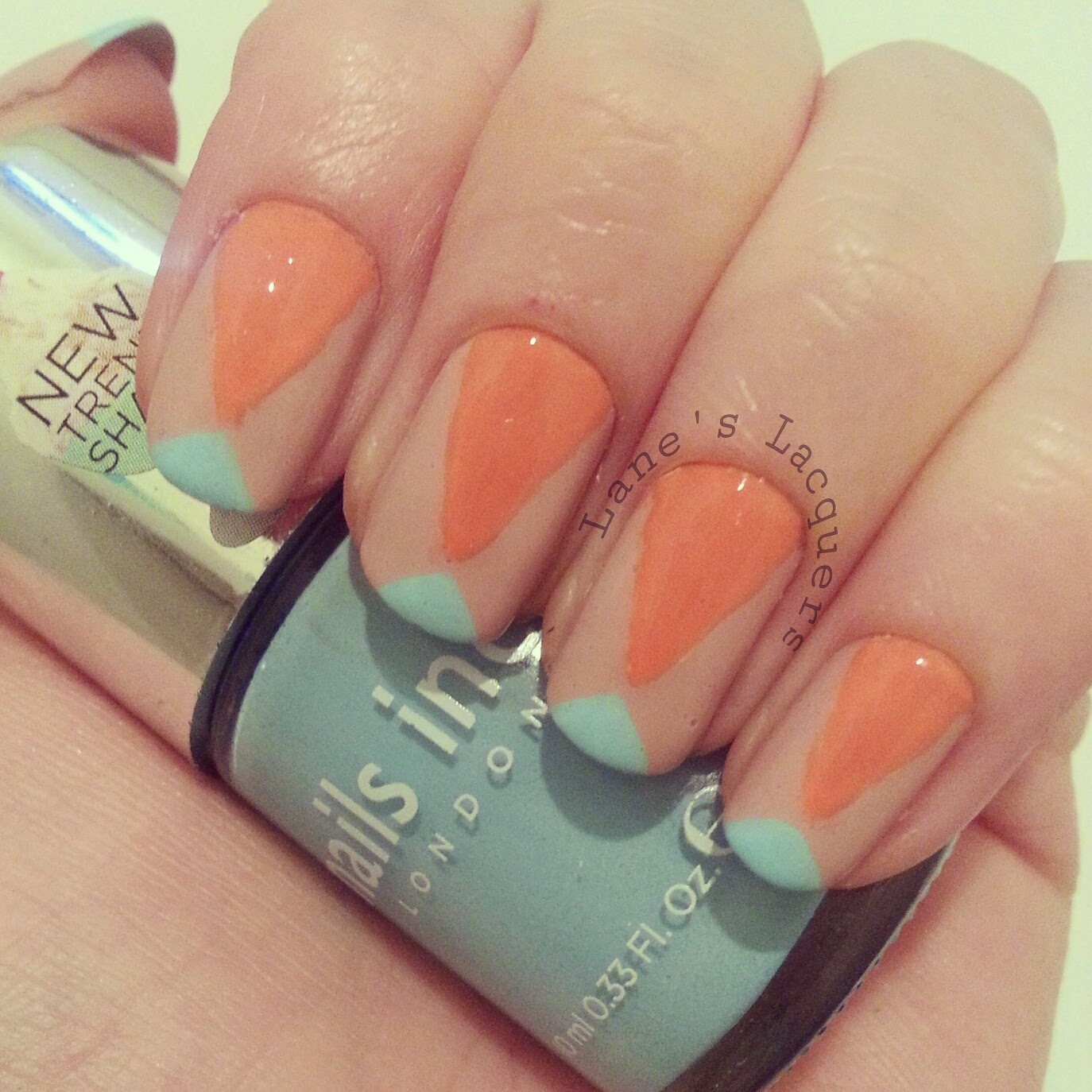 TPC-nude-coral-turquoise-geometric-nail-art