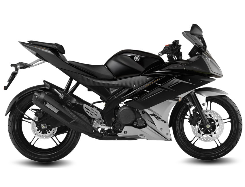 Yamaha R Invincible Black