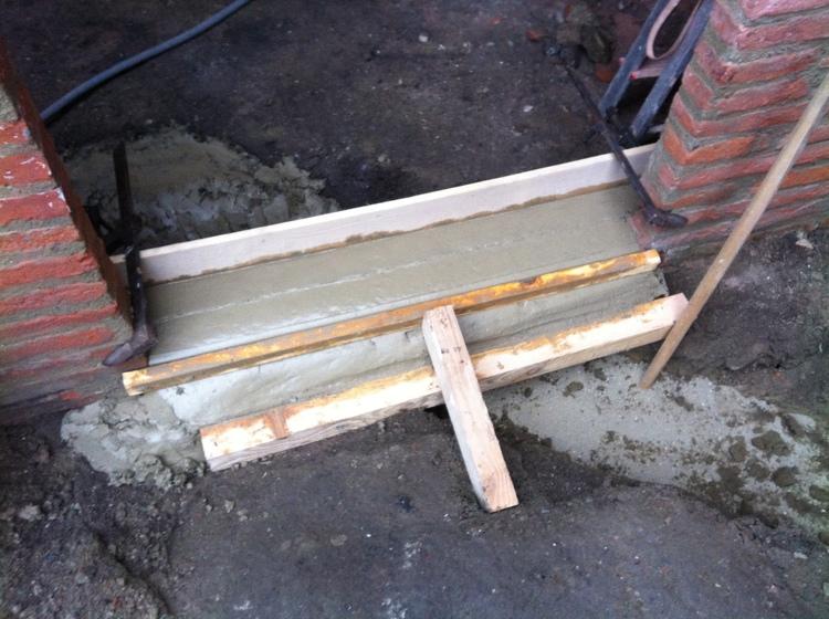 Au bled nouveaux seuil pour la cuisine for Peinture pour appui de fenetre en beton