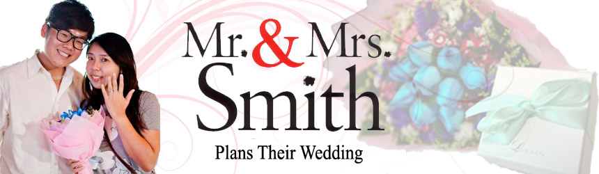 Mr and Mrs Smith, Plans Their Wedding