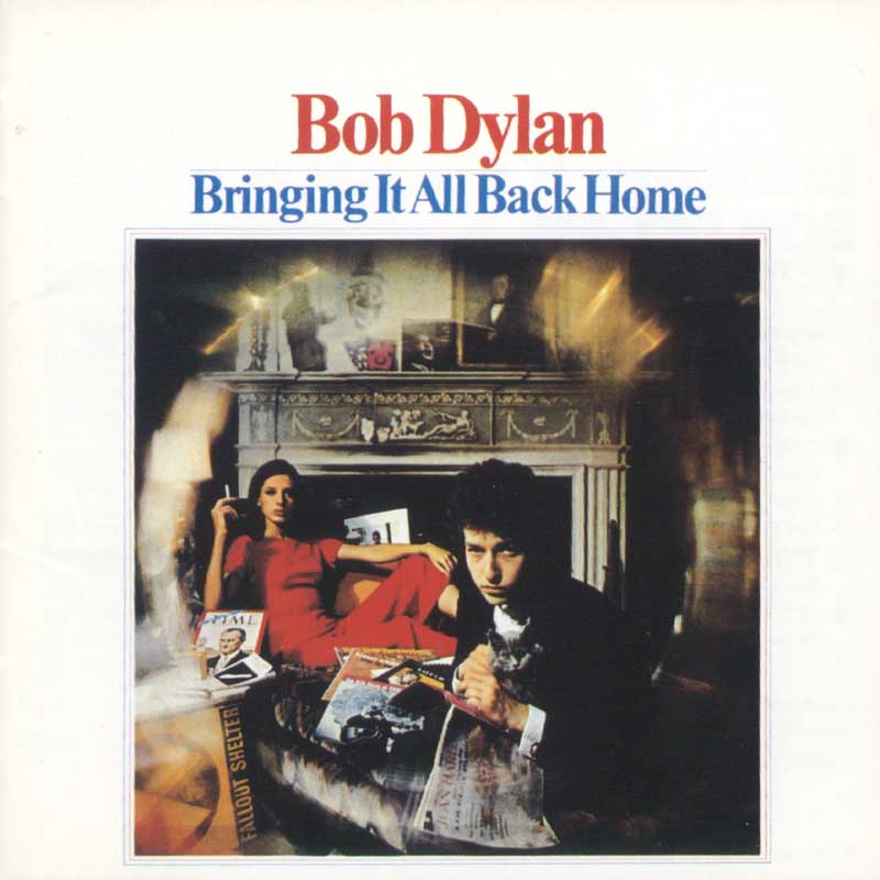 Bob Dylan - Bringing It All Back Home album cover
