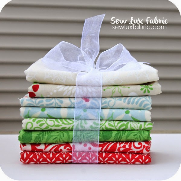 Sew Lux Fabric | Christmas In July