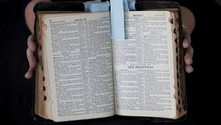 Elvis Presley's bible