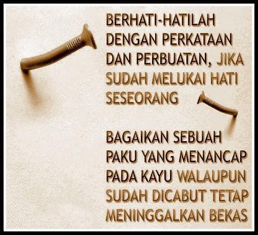 Tiada Ketenangan Andai Tiada Kemaafan