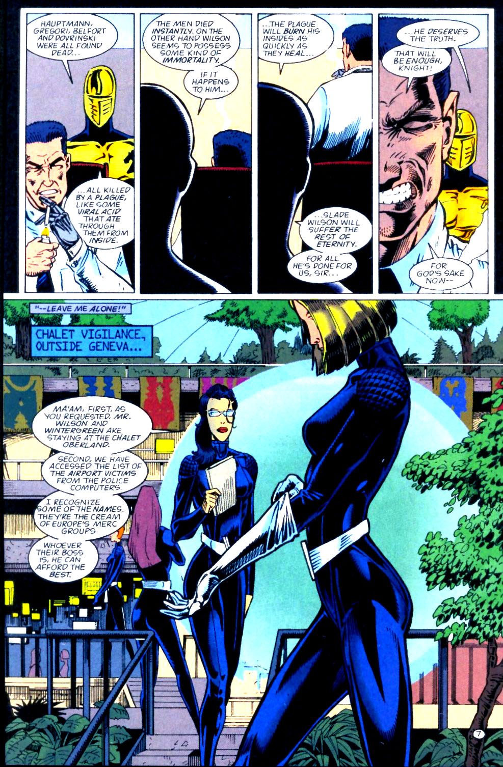 Deathstroke (1991) Issue #56 #61 - English 8