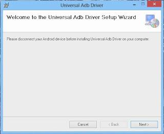 Install Universal ADB Driver