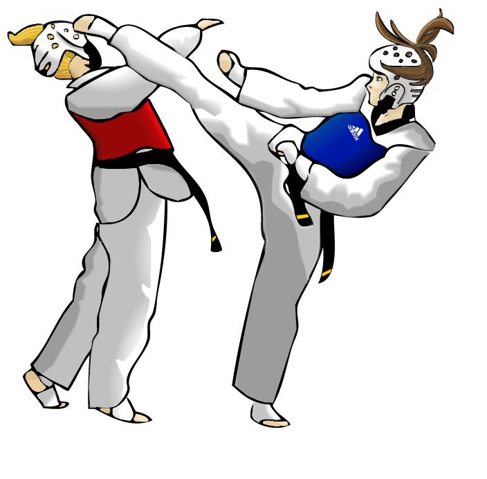Taekwondo Belt Clip Art