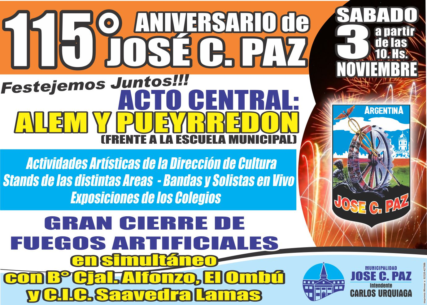 Prensa Municipalidad Jos C Paz 11 01 2012 12 01 2012