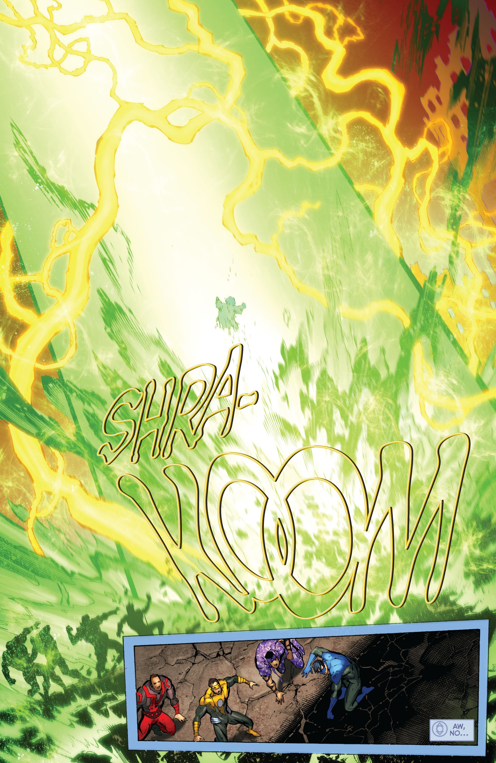 Read online Green Lantern Corps (2006) comic -  Issue #59 - 17