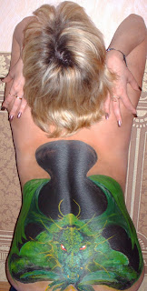 Artistic Body Painting Girl