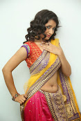 santoshini sharma photos in half saree-thumbnail-3