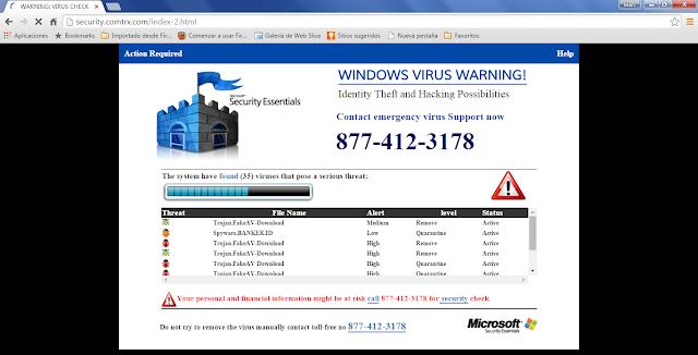 Security.comtrx.com Pop-ups