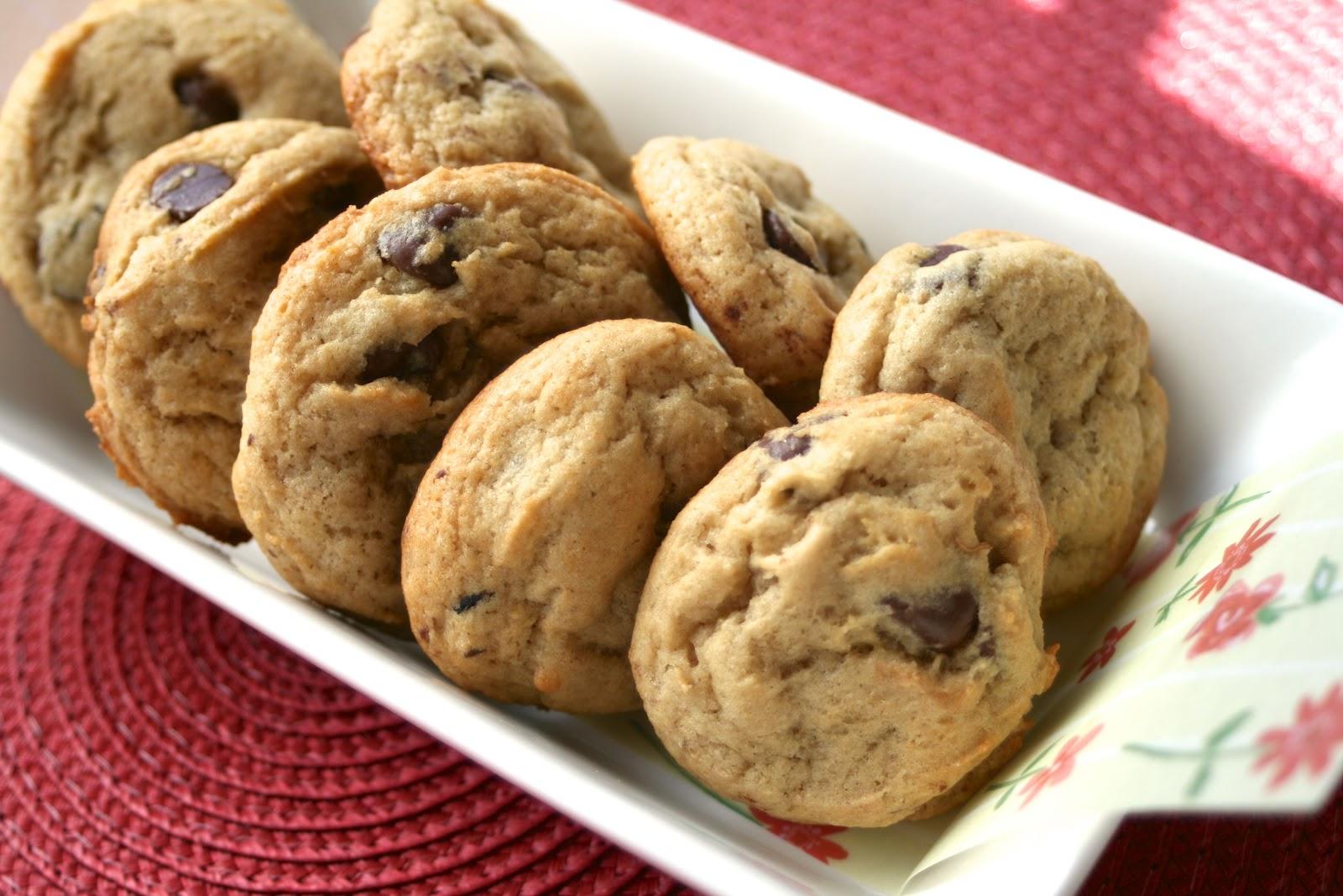 tune 'n fork: Banana Chocolate Chip Cookies