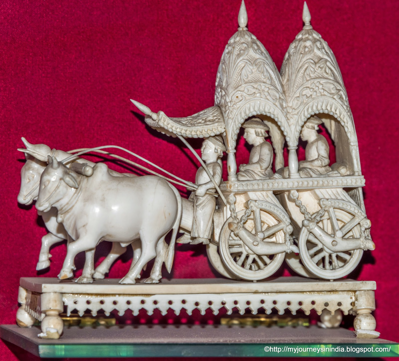 Ivory Sculpture at Albert Hall Museum Jaipur