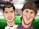 Futbol Yıldızlarını Tokatla Oyunu
