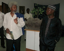 with Professor Wole Soyinka