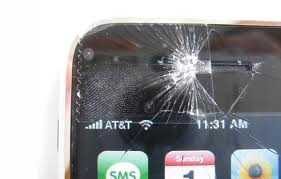 apple iphone glass break