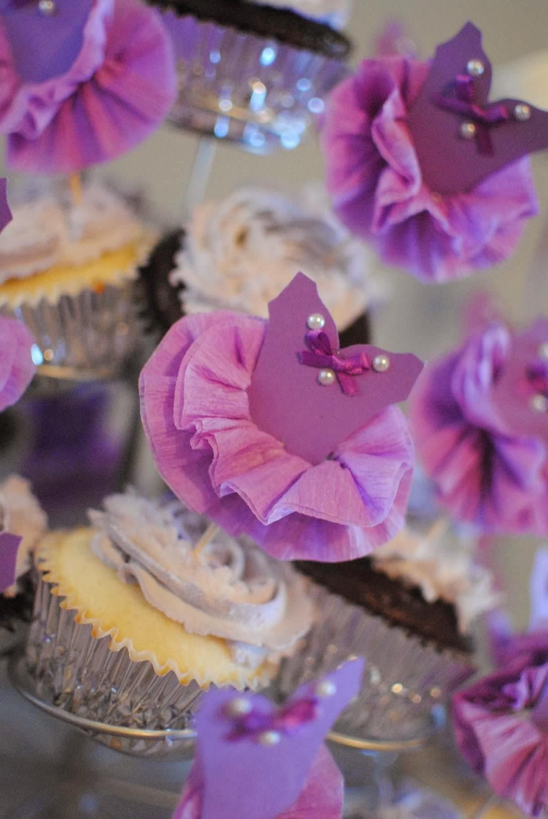 Ballet Cupcake Picks