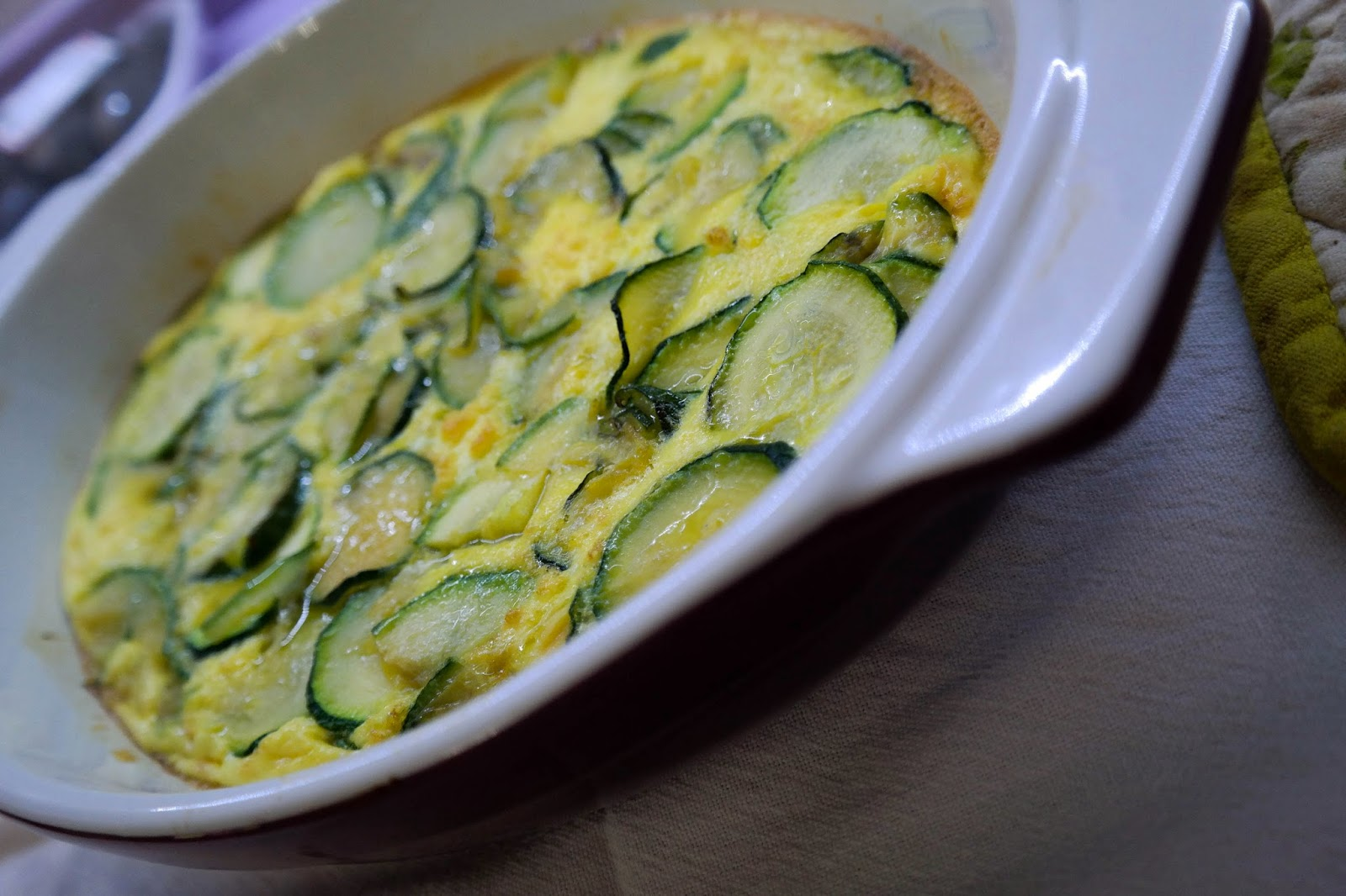 frittata light al forno