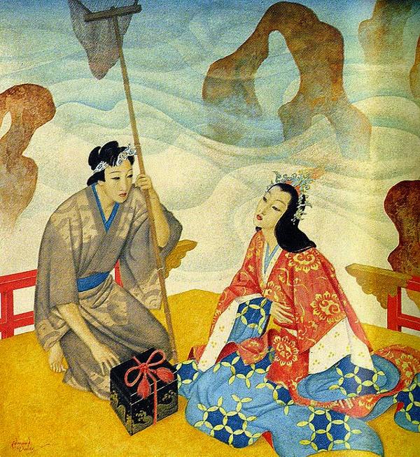 Otohime, Tamatebako, Urashima Taro